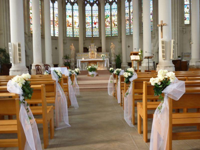 decoration interieur eglise pour mariage
