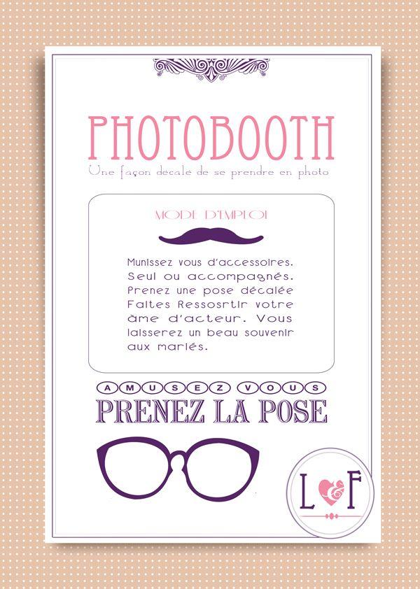Super Mode d emploi photobooth à télécharger - ma jolie toile VT65