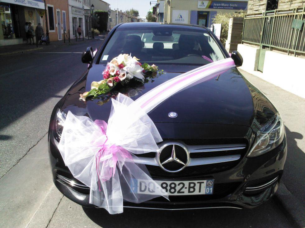 decoration voiture mariage saint etienne