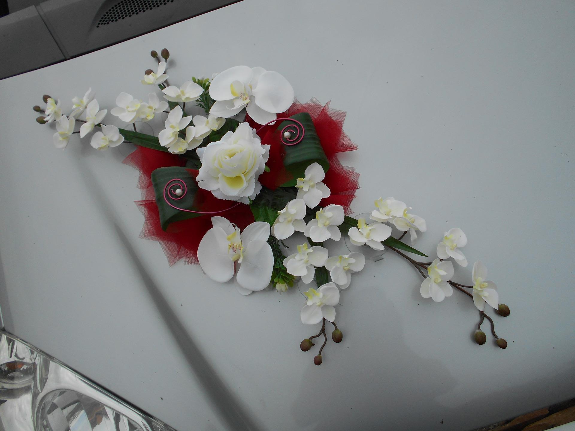 fleur artificielle deco mariage | gite pompadour lubersac