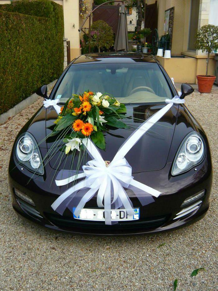 decoration mariage voiture invit s ma jolie toile. Black Bedroom Furniture Sets. Home Design Ideas