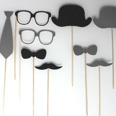 Accessoires photobooth style vintage