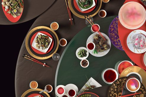Art de table asiatique