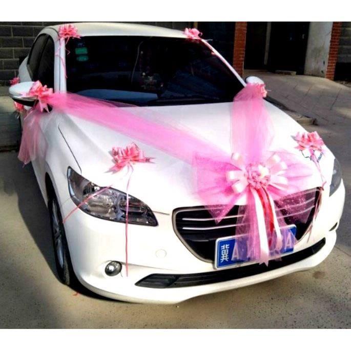 Décoration voiture pour mariage