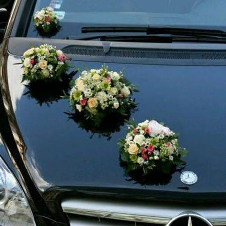 Fleur voiture mariage prix