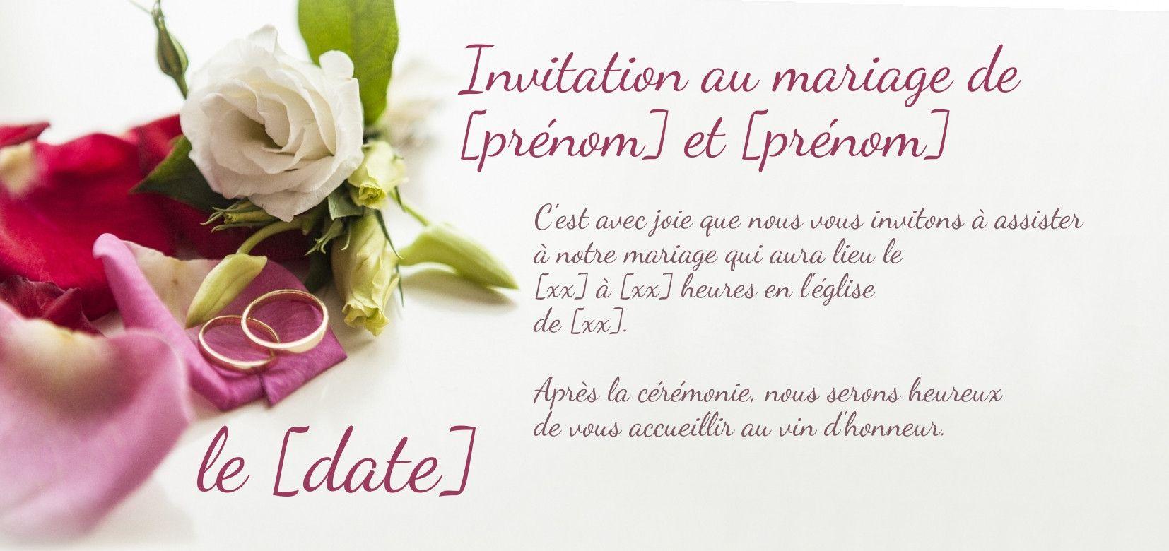 Imprimer faire part mariage gratuit