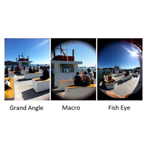 Smartphone grand angle
