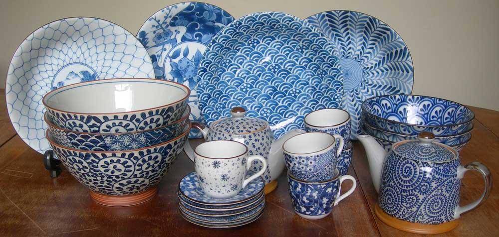 Vaisselle japonaise contemporaine