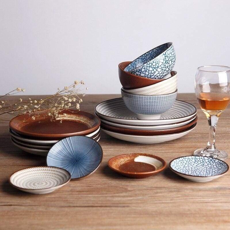 Vaisselle traditionnelle japonaise