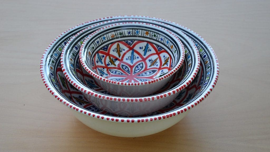 Vente vaisselle orientale