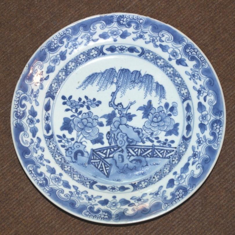Assiette porcelaine de chine