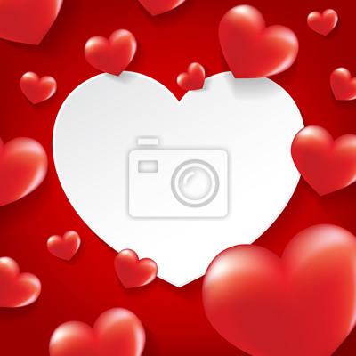 Cadre photo coeur