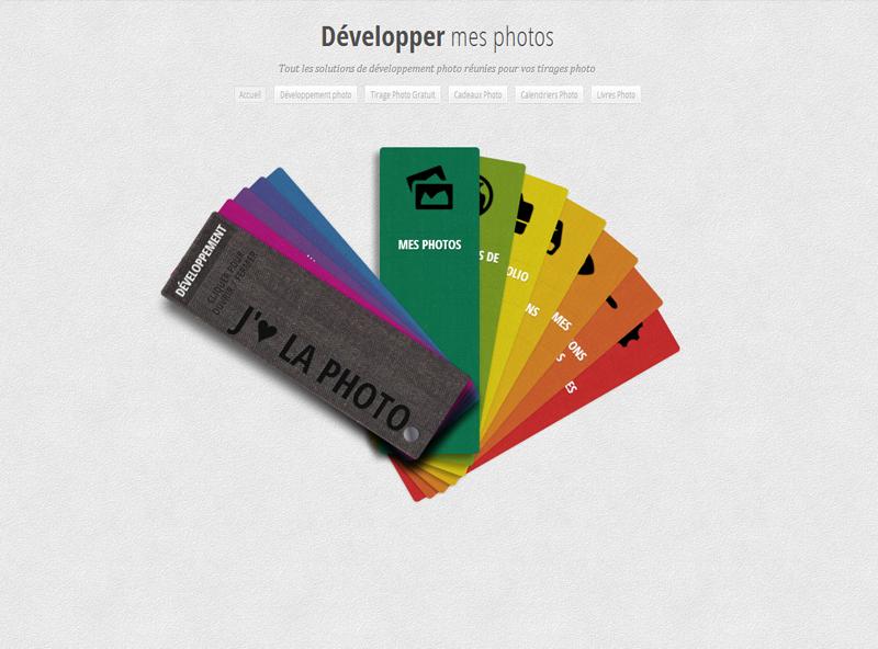 Developper mes photos