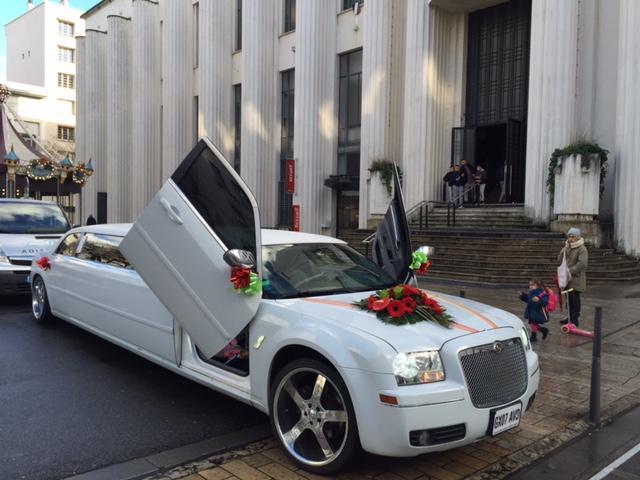 Location limousine mariage prix