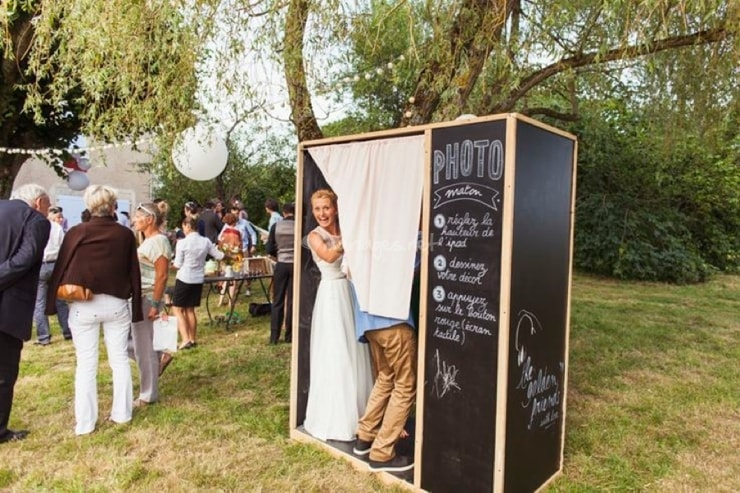 Photo cabine mariage