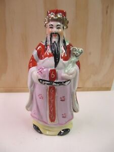 Statuette chinoise porcelaine