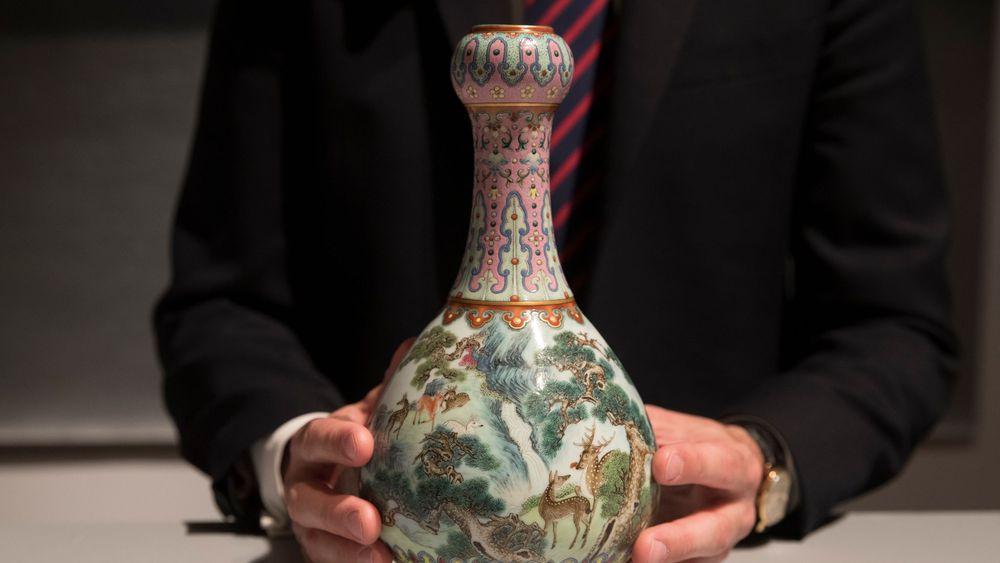 Vase chinois rare
