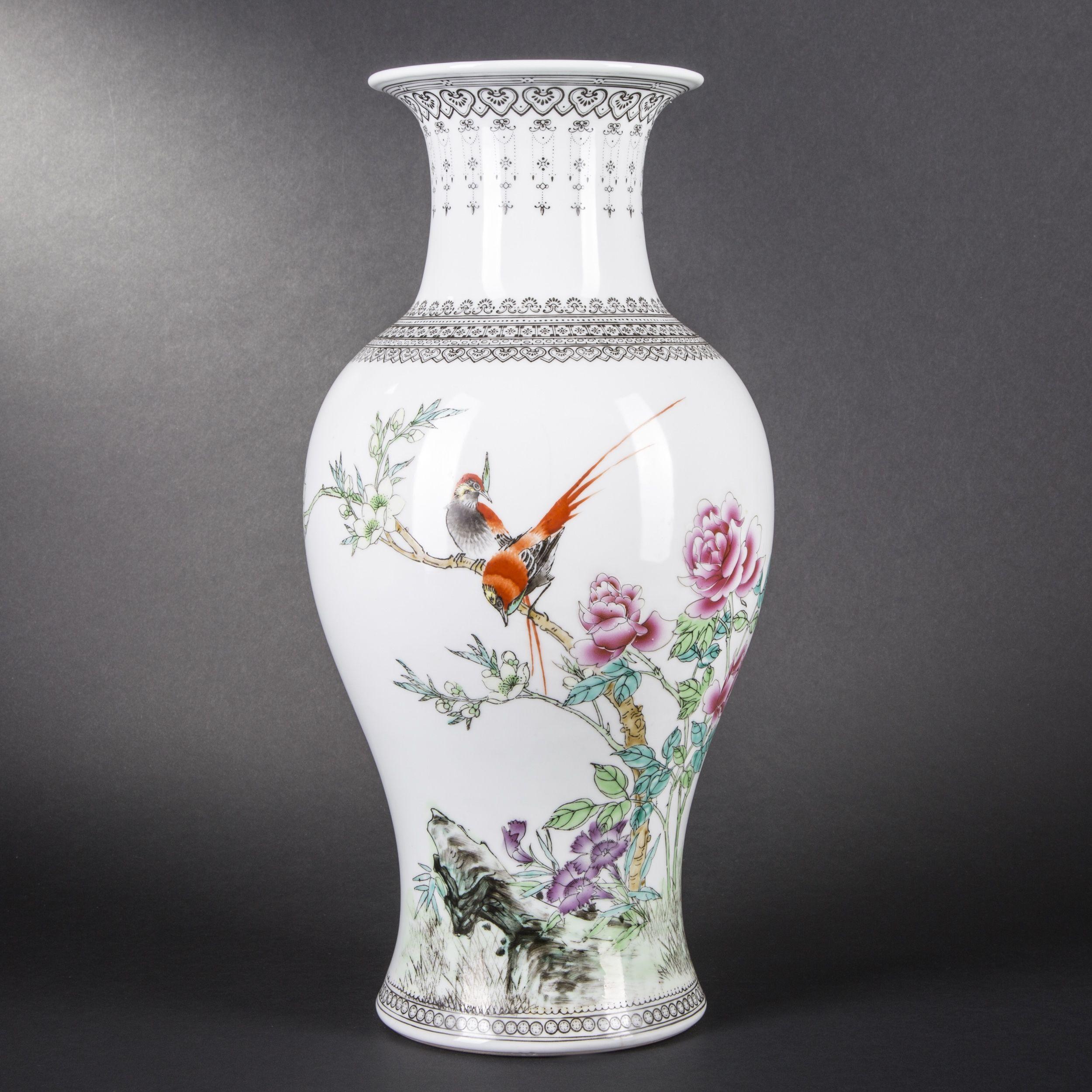 Vase en porcelaine chinoise
